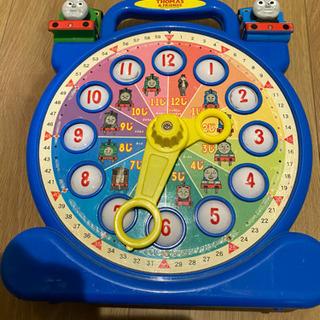 トーマス 知育玩具 時計を覚えられるおもちゃ