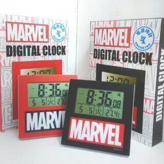 【限定商品】マーベル  電波時計  2個セット