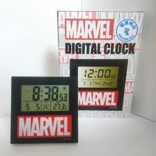 【限定商品】マーベル 電波時計