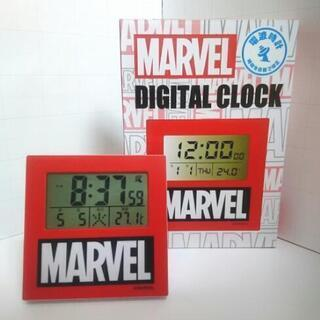 【限定商品】マーベル 電波 時計