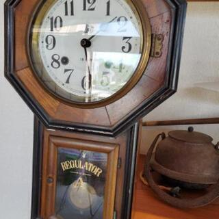 アンティーク柱時計