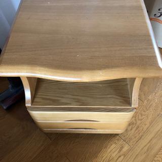 木製 サイドテーブル