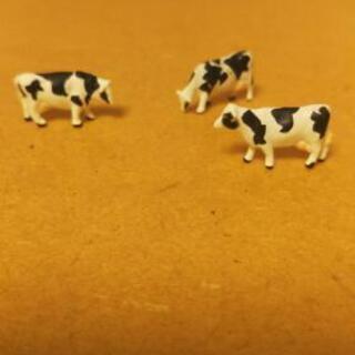 ジオコレ【牛🐮3頭】鉄道模型・Nゲージ