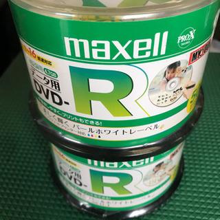 【未使用品在庫処分】maxell DVD-R 16倍速対応 50...