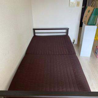 ニトリ 二つ折りベッド