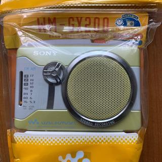 SONY WM-GX200 イエロー 未使用品