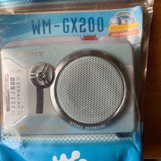 SONY WM-GX200 ブルー 未使用品