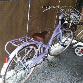 24インチ子供用自転車ほぼ新品