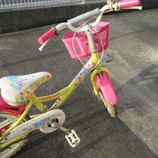 子ども用 自転車16インチ 補助輪付き  - 岩国市