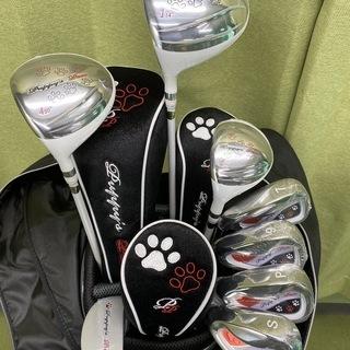 新品!左利き用☆レディース☆ゴルフゴルフセット
