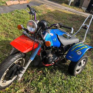希少車‼️ホンダ 3輪バギー 側車付オートバイ トライク