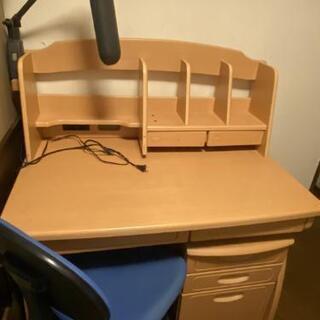 (交渉中)木製学習机、バラしてお渡しします、お引き取りのみ…