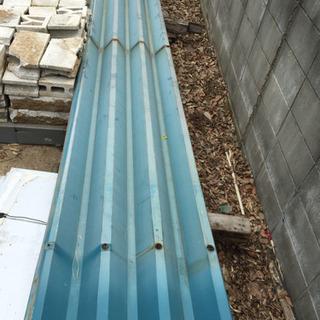 DIY 屋根材 折半屋根 10枚セット 半端混在 4100×650