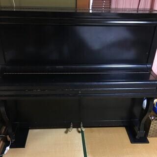 アンティークアップライトピアノ NOBEL 2本ペダルの画像
