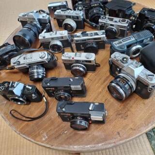 フィルムカメラ多数