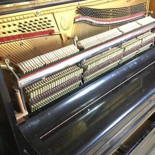 アンティークアップライトピアノ NOBEL 2本ペダル - 売ります・あげます