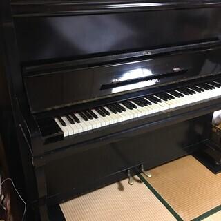 アンティークアップライトピアノ NOBEL 2本ペダル − 青森県
