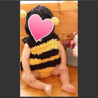 仮装衣装 ミツバチ 70 ベビー ハチ 蜂 0歳 1歳 キッズ ...