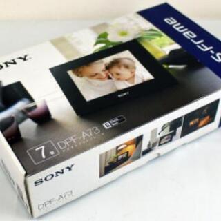 【新品未使用】SONY デジタルフォトフレーム DPF-A73