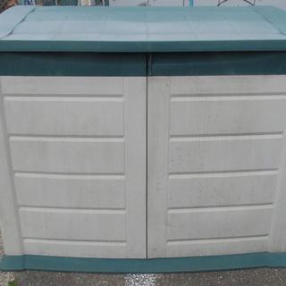 【物置】コストコ プラスチック製 収納ボックス 幅147cm