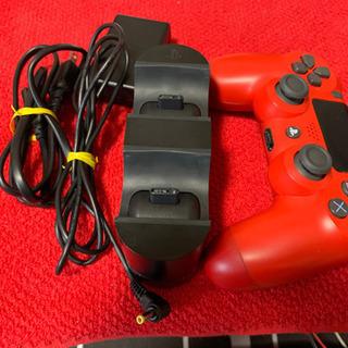 PS4 デュアルショック4+置くだけ充電器