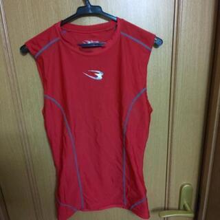 加圧シャツ赤色