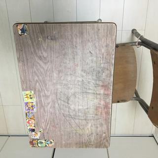学校机 椅子