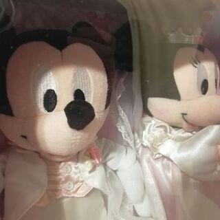 【値下げ】ブライダルミッキー&ミニー(M) 2000→1500円 - おもちゃ