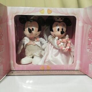 【値下げ】ブライダルミッキー&ミニー(M) 2000→15…
