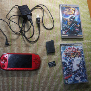PSP-3000 カセット2個付き