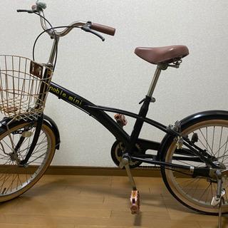 自転車 鍵付き パンク無しの画像