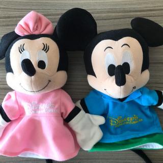 ミッキー&ミニーのパペット DWE