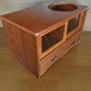 和風テイストで実用的なポットワゴン - 家具