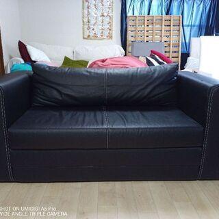 IKEA 2人掛けソファーベット