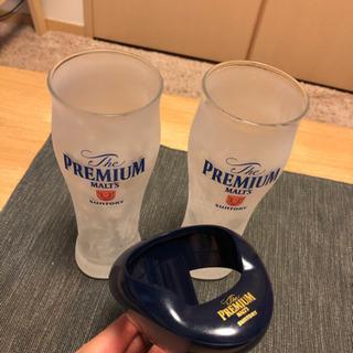 サントリープレモル✨神泡サーバーandグラス2客‼️