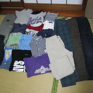 ☆彡 子供服 140サイズ 21点 トレーナー、シャツ、ズボン等 ☆彡