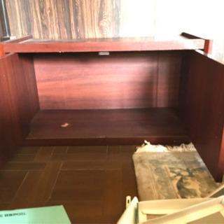 テレビ台、収納棚の画像