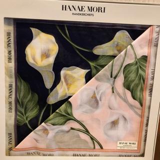 HANAE MORI ハンカチ 新品