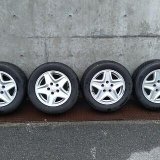 ステップワゴン純正 ホイール タイヤ4本セット 195/65-1...