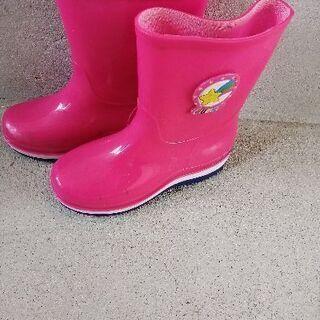 ピンクの長靴 サイズ20