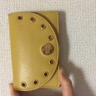 クロエ ミニ財布 黄色☆