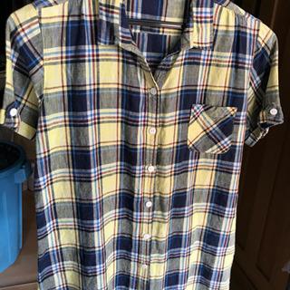 【値下げ】Disney チェックシャツ