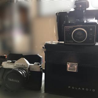 商談中 ジャンク 古いカメラ2台