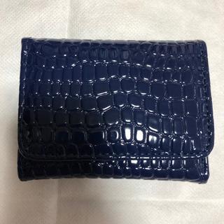エナメル型押し・コンパクト財布②