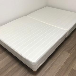 【取引中】セミダブル ベッド マットレス 脚付