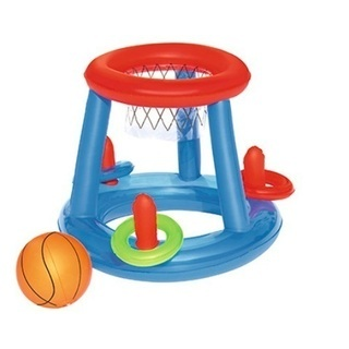 浮き輪バスケットゴール