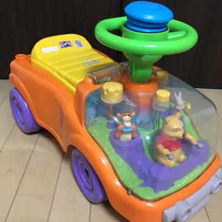 プーさん 乗り物 おもちゃ 子供用