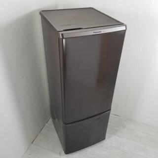 中古 168L 2ドア冷蔵庫 ブラウン パナソニック NR-B1...