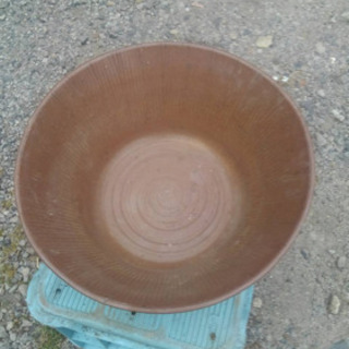 信楽焼き水盤