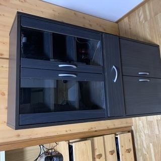 【使用期間1年半】国内メーカー食器棚 - 家具